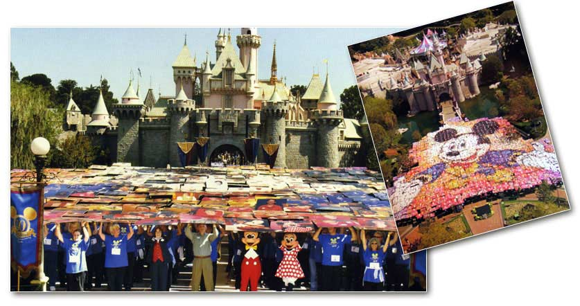 Mickey Mouse Giant Mosaic